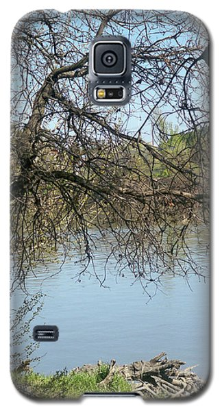 Fall At Sacramento River Scenic Photography Galaxy S5 Case