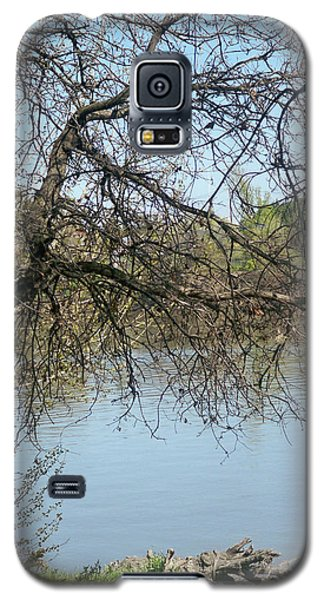 Fall At Sacramento River Scenic Photography Galaxy S5 Case