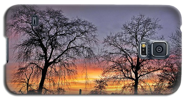 Sacramento Sunset Galaxy S5 Case