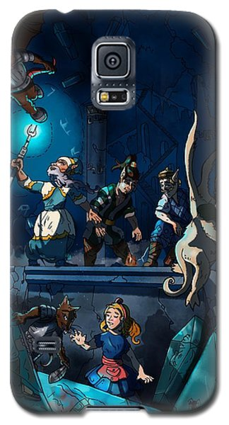 Sacred Burial Chamber Galaxy S5 Case
