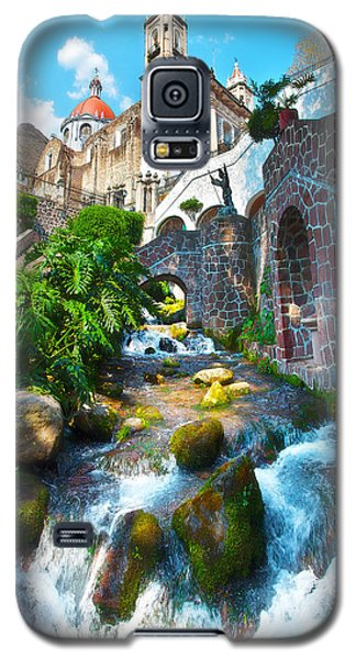 Galaxy S5 Case featuring the photograph Sacred Chalma by John  Bartosik