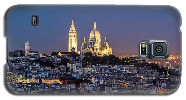 Sacred Heart At The Summit Of Montmartre Paris Galaxy S5 Case
