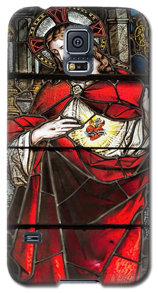 Sacred Heart Of Jesus Galaxy S5 Case