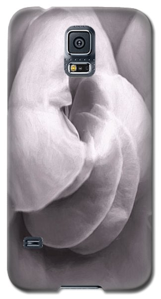 Galaxy S5 Case featuring the photograph Sacred Rose by Jean OKeeffe Macro Abundance Art