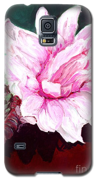 Sacred Pink Lotus  Galaxy S5 Case