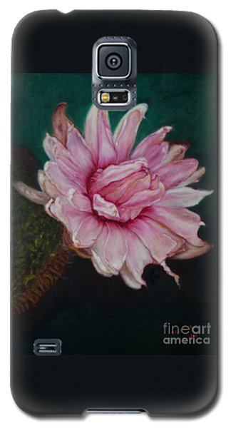 Sacred Red Lotus Galaxy S5 Case