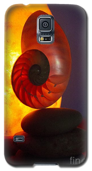 Galaxy S5 Case featuring the photograph Sacred Spiral 3 by Jeanette French