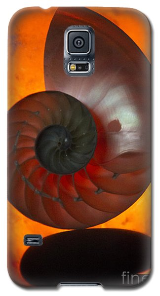 Galaxy S5 Case featuring the photograph Sacred Spiral by Jeanette French