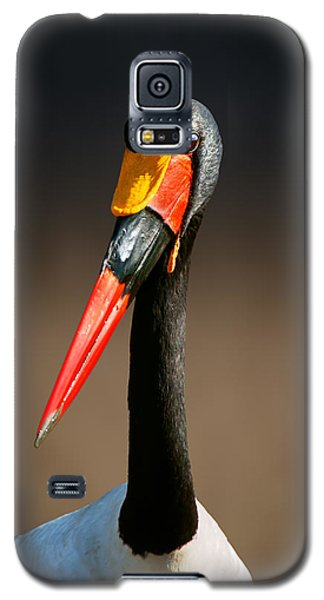 Saddle-billed Stork Portrait Galaxy S5 Case