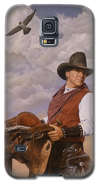 Saddle 'em Up Galaxy S5 Case by Ron Crabb