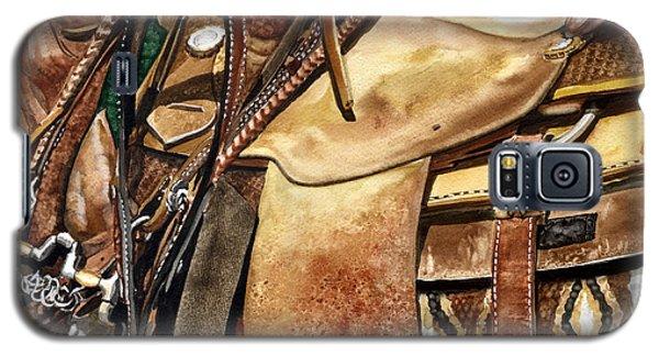 Saddle Texture Galaxy S5 Case