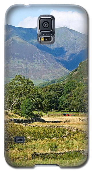 Galaxy S5 Case featuring the photograph Saddleback Mountain by Jane McIlroy