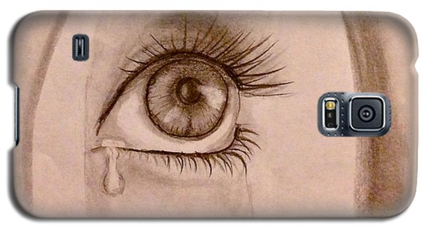 Sadness In The Eye Galaxy S5 Case