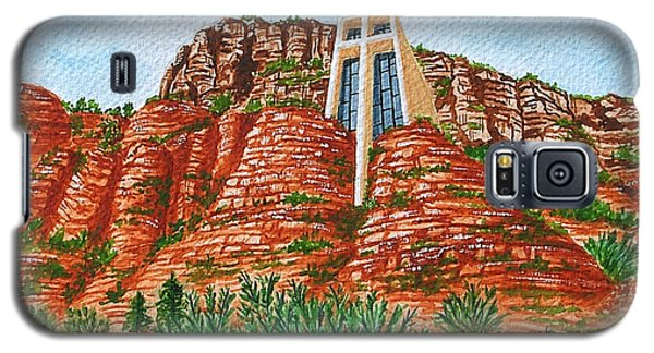 Sadona Church Galaxy S5 Case by Val Miller