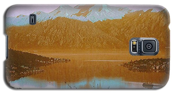 Galaxy S5 Case featuring the photograph Safe Harbor Montenegro by Ann Johndro-Collins