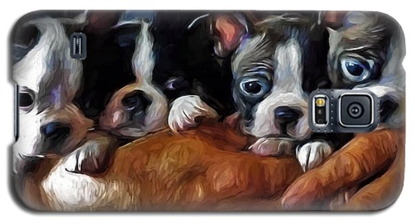 Safe In The Arms Of Love - Puppy Art Galaxy S5 Case