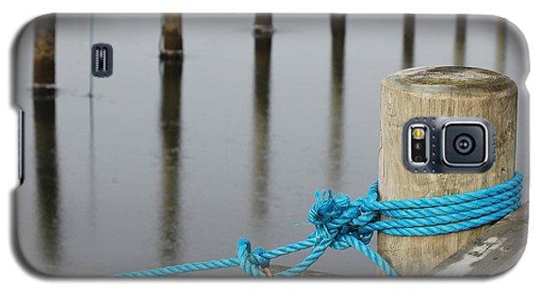 Galaxy S5 Case featuring the photograph Safe Mooring by Randi Grace Nilsberg