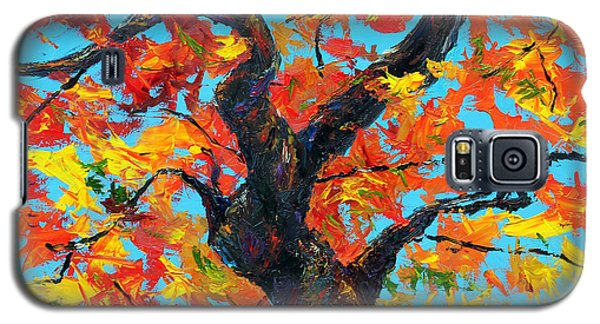 Galaxy S5 Case featuring the painting Safely Abiding by Meaghan Troup