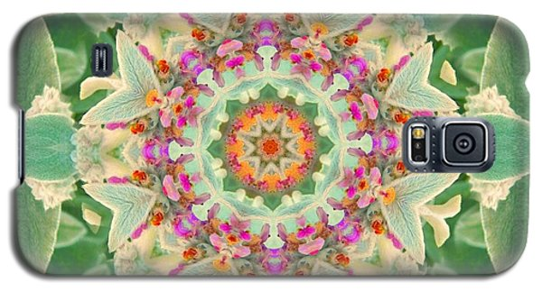 Sage Flower Mandala Galaxy S5 Case