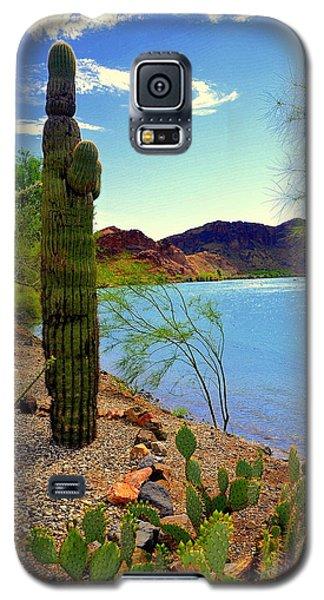 Saguaro Galaxy S5 Case by Antonia Citrino