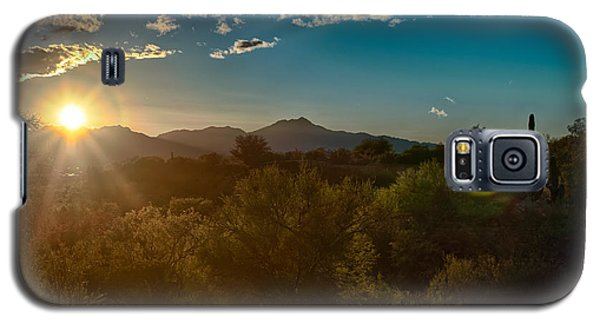 Galaxy S5 Case featuring the photograph Saguaro National Park by Dan McManus