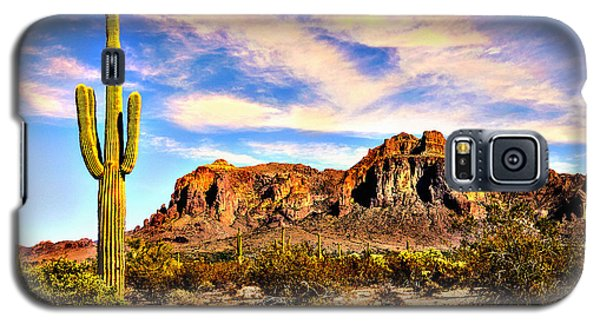 Saguaro Superstition Mountains Arizona Galaxy S5 Case