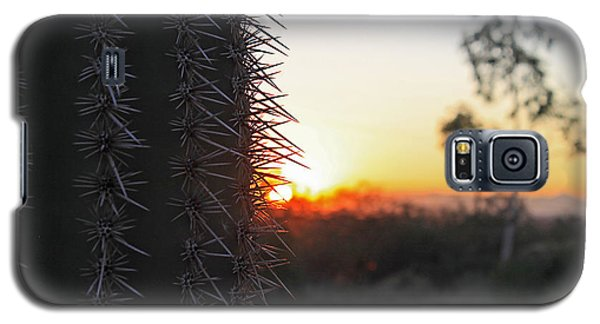 Galaxy S5 Case featuring the photograph Sagurao Sunset by Gary Kaylor