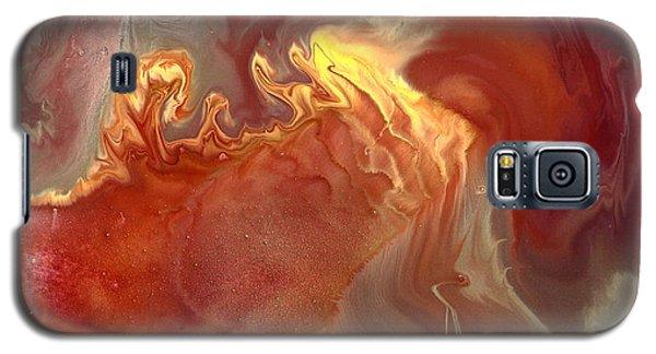 Sahara Dreams Fluid Abstract Art By Kredart Galaxy S5 Case