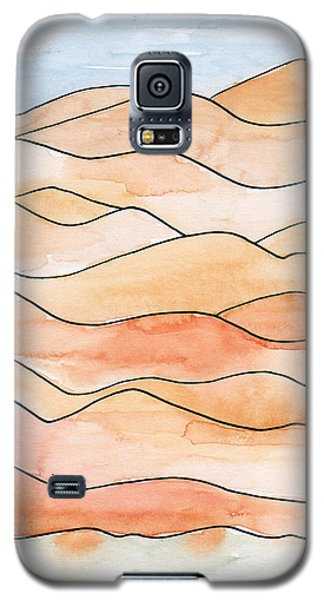 Sahara Sand Dunes 2 Galaxy S5 Case