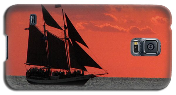 Key West Sunset Sail 5 Galaxy S5 Case