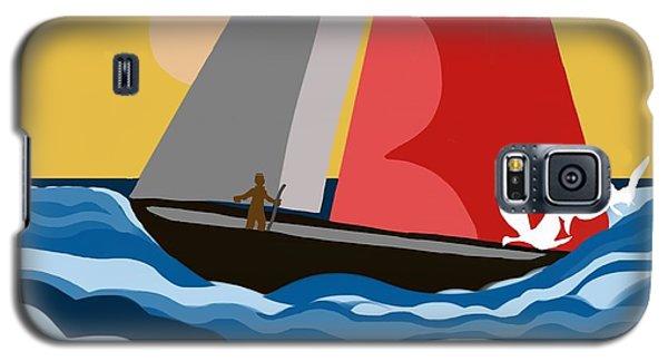 Sail Day Galaxy S5 Case by Christine Fournier
