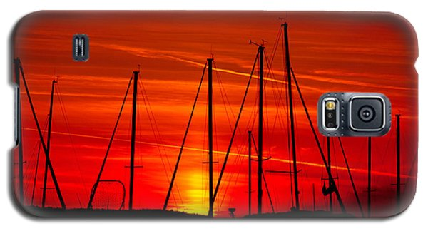 Sail Silhouettes Galaxy S5 Case