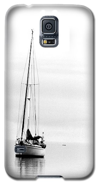 Sailboat Bw Too Galaxy S5 Case
