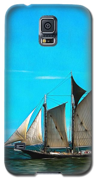 Sailboat In The Bay Galaxy S5 Case