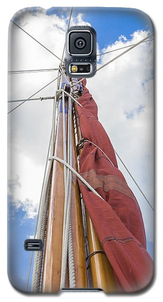 Sailboat Mast 2 Galaxy S5 Case by Leigh Anne Meeks