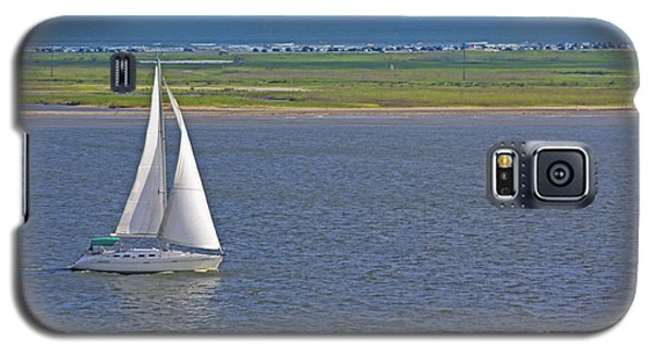 Galaxy S5 Case featuring the photograph Sailboat by Richard Lynch