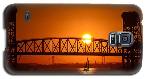 Sailboat Under Marine Park Bridge Galaxy S5 Case