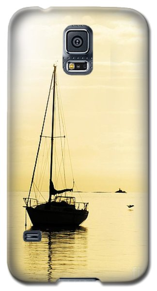 Sailboat With Sunglow Galaxy S5 Case