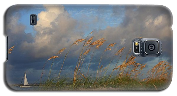 Galaxy S5 Case featuring the photograph Sailboat Wrightsville Beach North Carolina  by Mountains to the Sea Photo