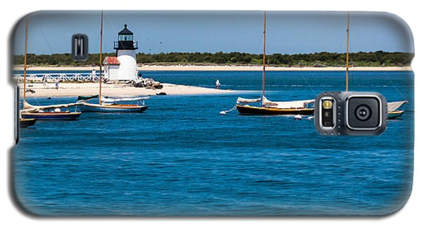 Sailboats And Brant Point Lighthouse Nantucket Galaxy S5 Case