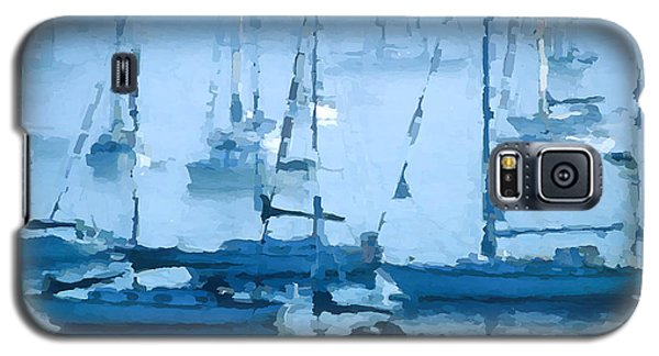 Sailboats In The Fog II Galaxy S5 Case