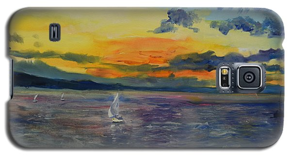 Sailboats Near Stockholm Galaxy S5 Case