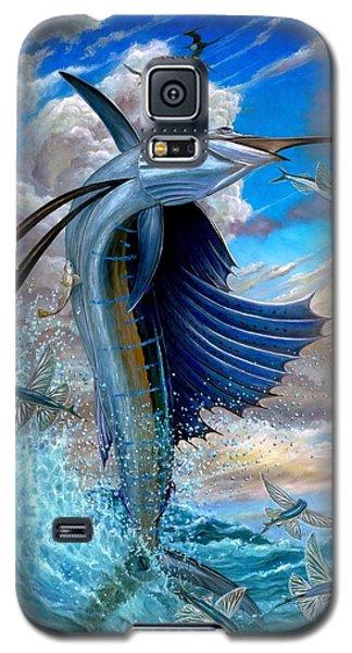 Sailfish And Flying Fish Galaxy S5 Case