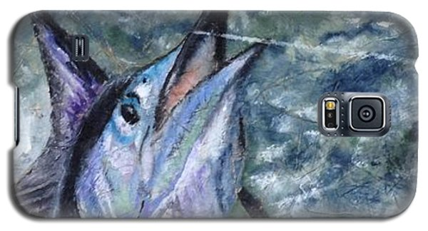 Galaxy S5 Case featuring the painting Sailfish by Stan Tenney