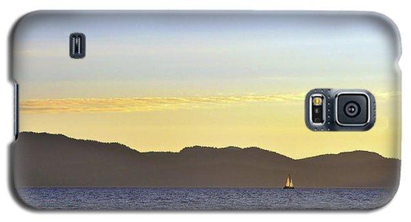 Sailing At Sunset - Lake Tahoe Galaxy S5 Case