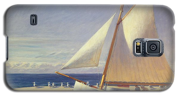Sailing Boat Galaxy S5 Case by Edward Hopper