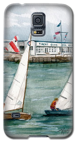 Sailing Class  Galaxy S5 Case by Nancy Patterson