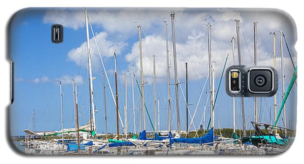 Sailing Club Marina 1 Galaxy S5 Case by Leigh Anne Meeks