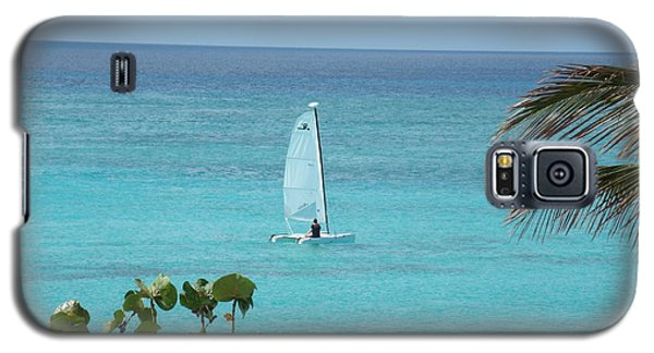 Galaxy S5 Case featuring the photograph Sailing by David S Reynolds