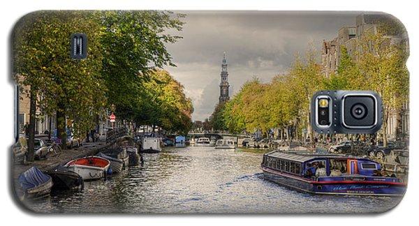 Sailing In Amsterdam Galaxy S5 Case by Uri Baruch